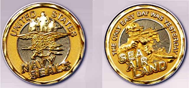 A challenge coin recognizes the mission and inspires you to get it done.