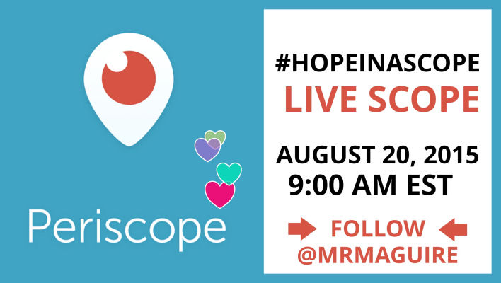 Periscope with Mary Rose Maguire