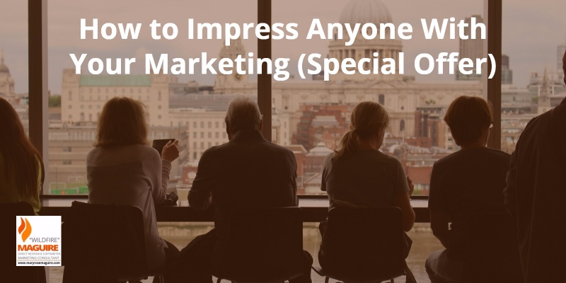 Do this one simple thing when you market and you'll be remembered.