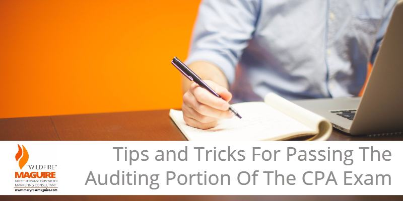 Learn how to pass the auditing portion of the CPA exam.