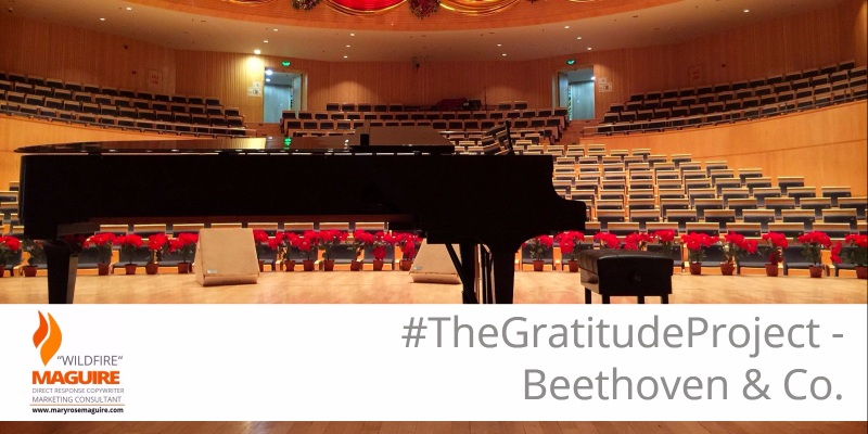 #TheGratitudeProject - Beethoven & Co.