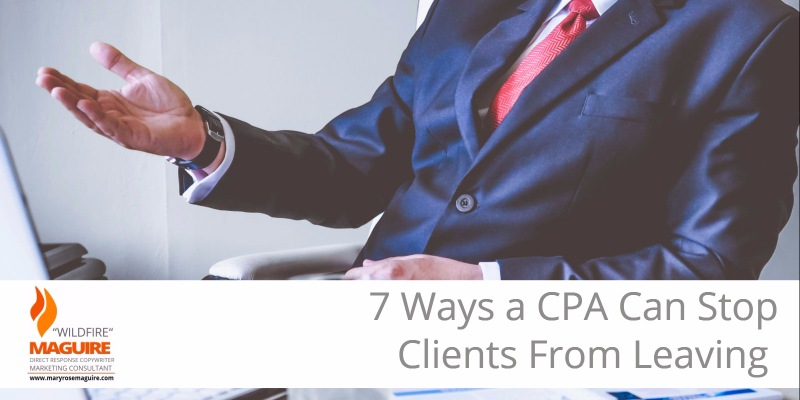 Want to keep clients from leaving your CPA practice? It just takes a little care and attention...